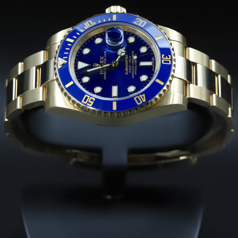 Rolex 116618LB Submariner Blue Dial