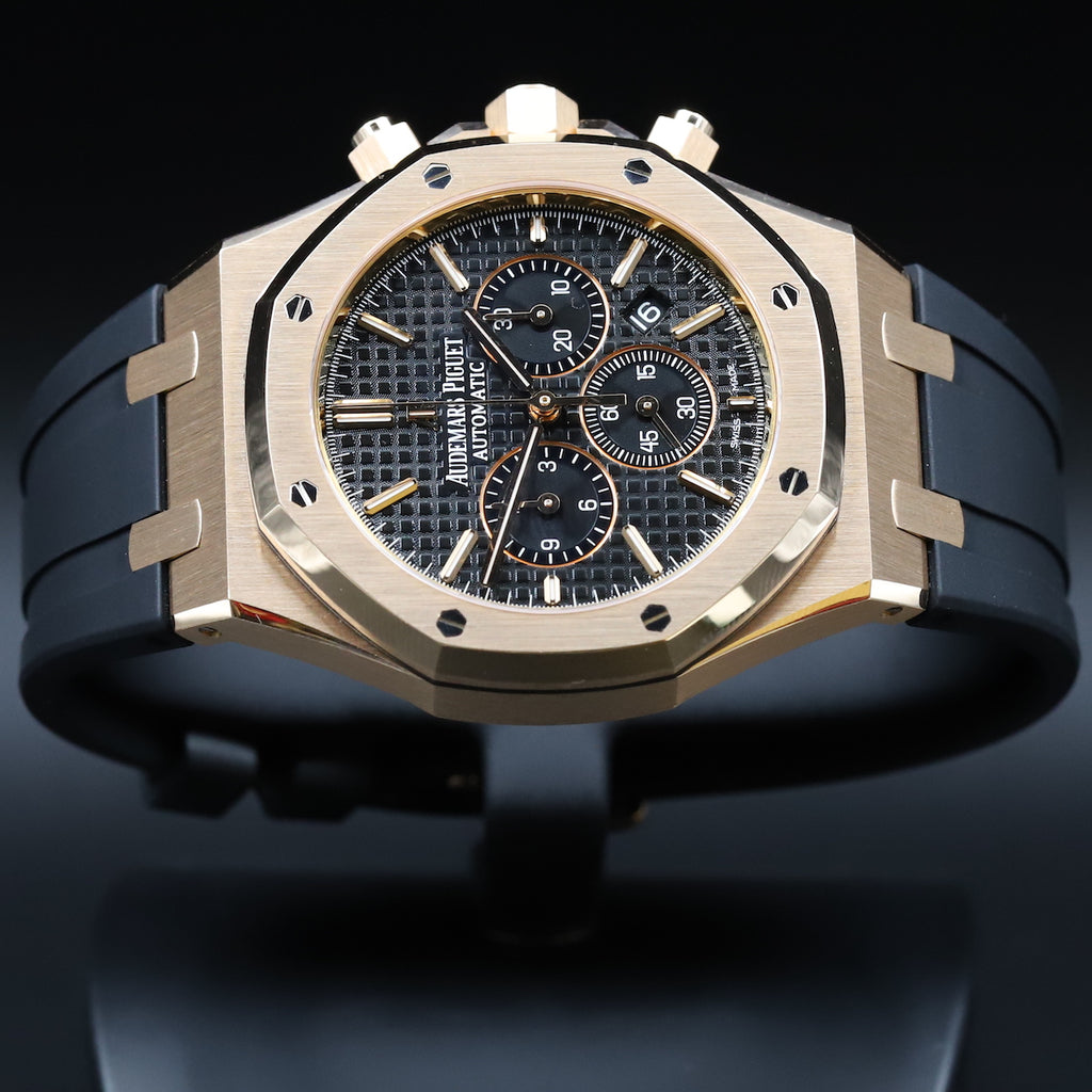 Audemars Piguet 26320OR Royal Oak Chronograph Black Dial