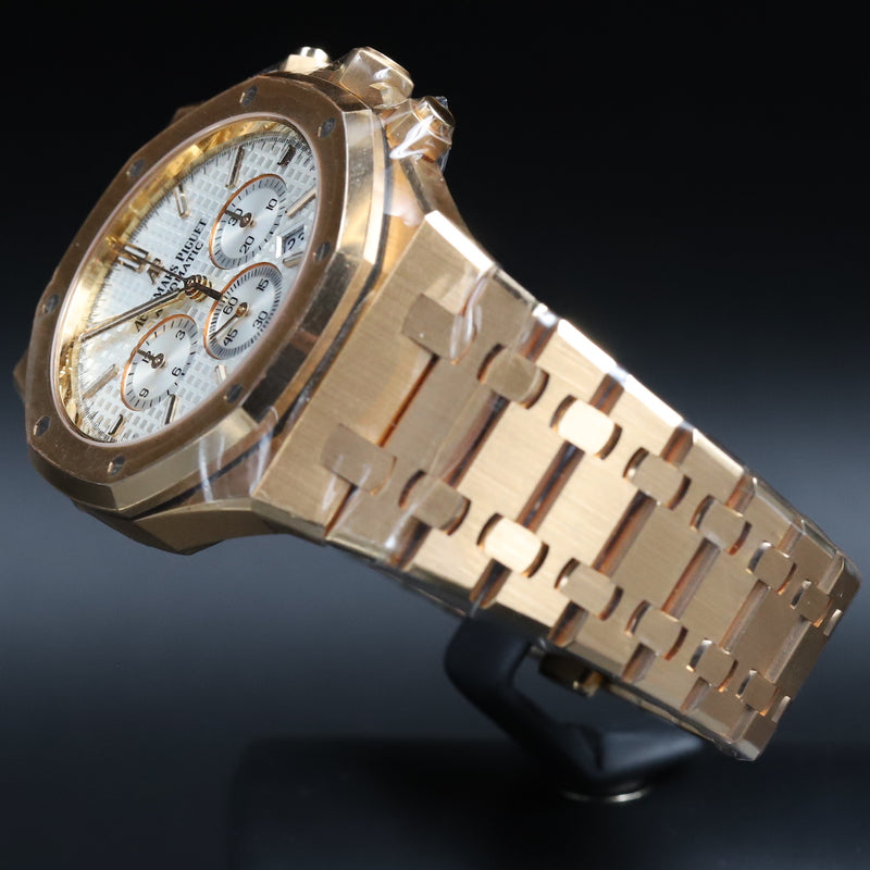 Audemars Piguet 26331OR Royal Oak Chronograph White Dial