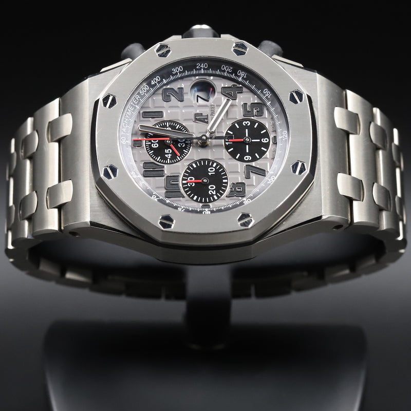 Audemars Piguet 26470IO Royal Oak Offshore 'Brick' Titanium