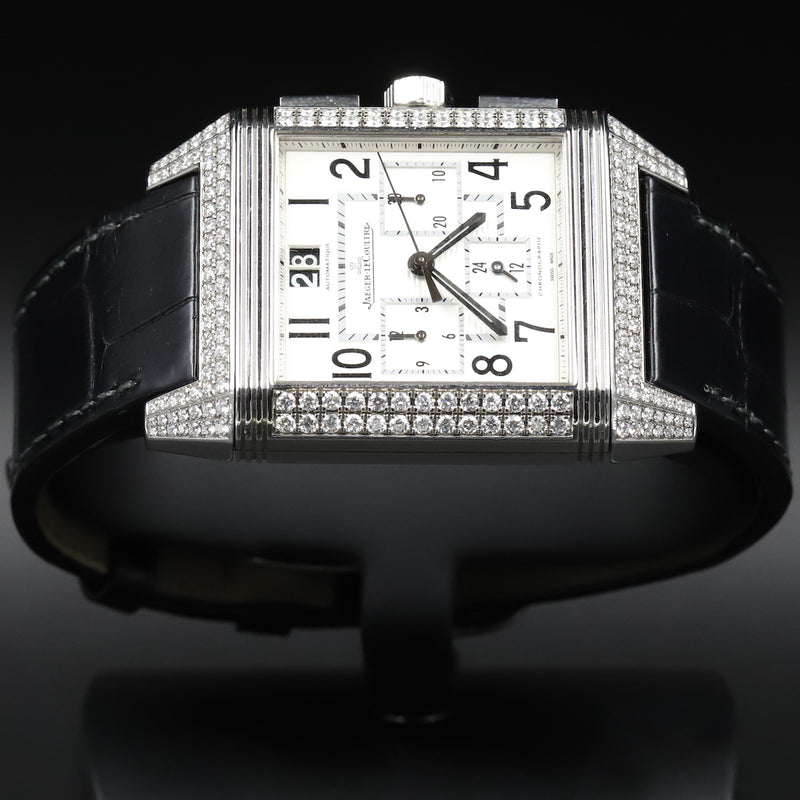 Jaeger LeCoultre 7018420 Reverso Squadra Chronograph WatchCraft Collection