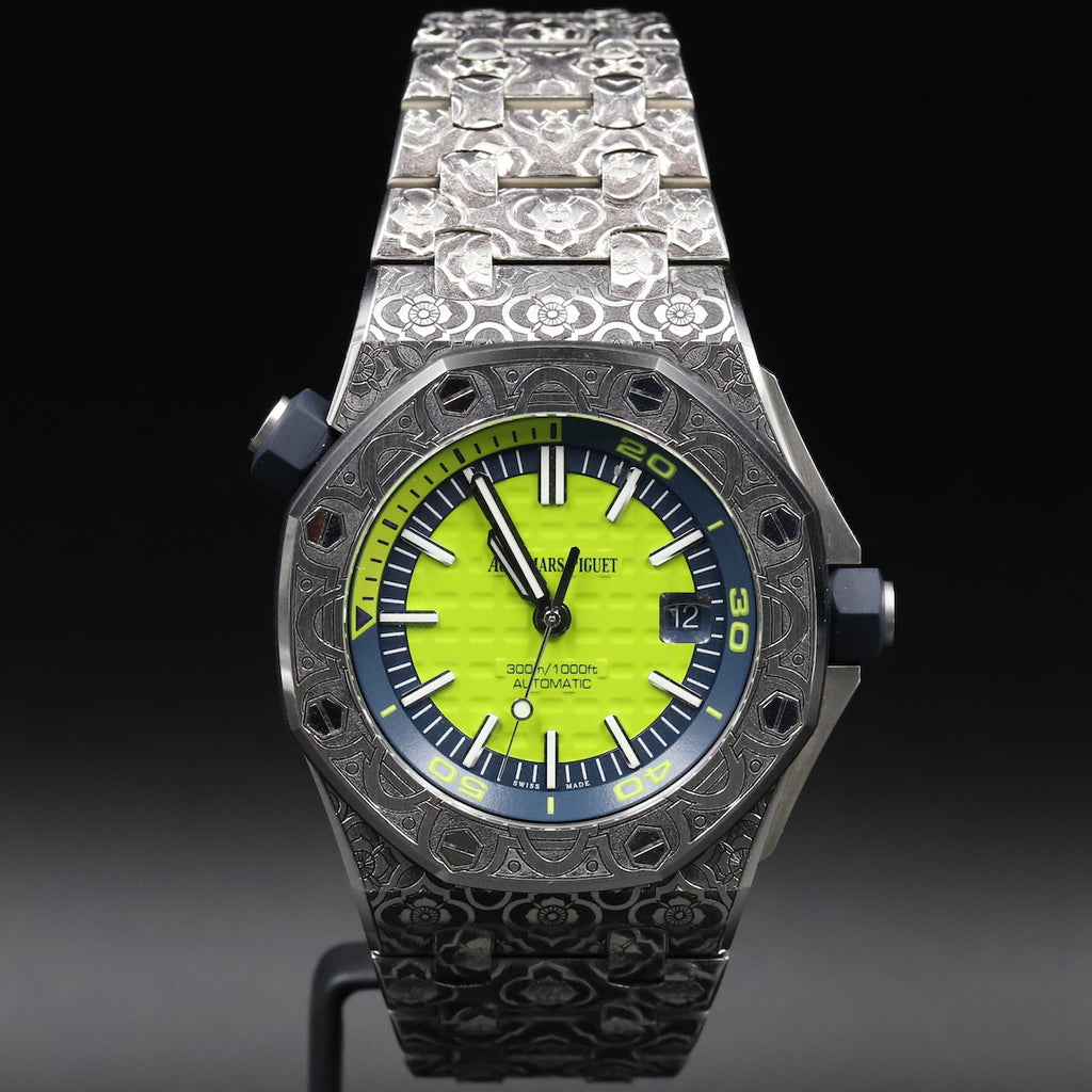 Audemars Piguet Royal Oak Diver Watchcraft Collection