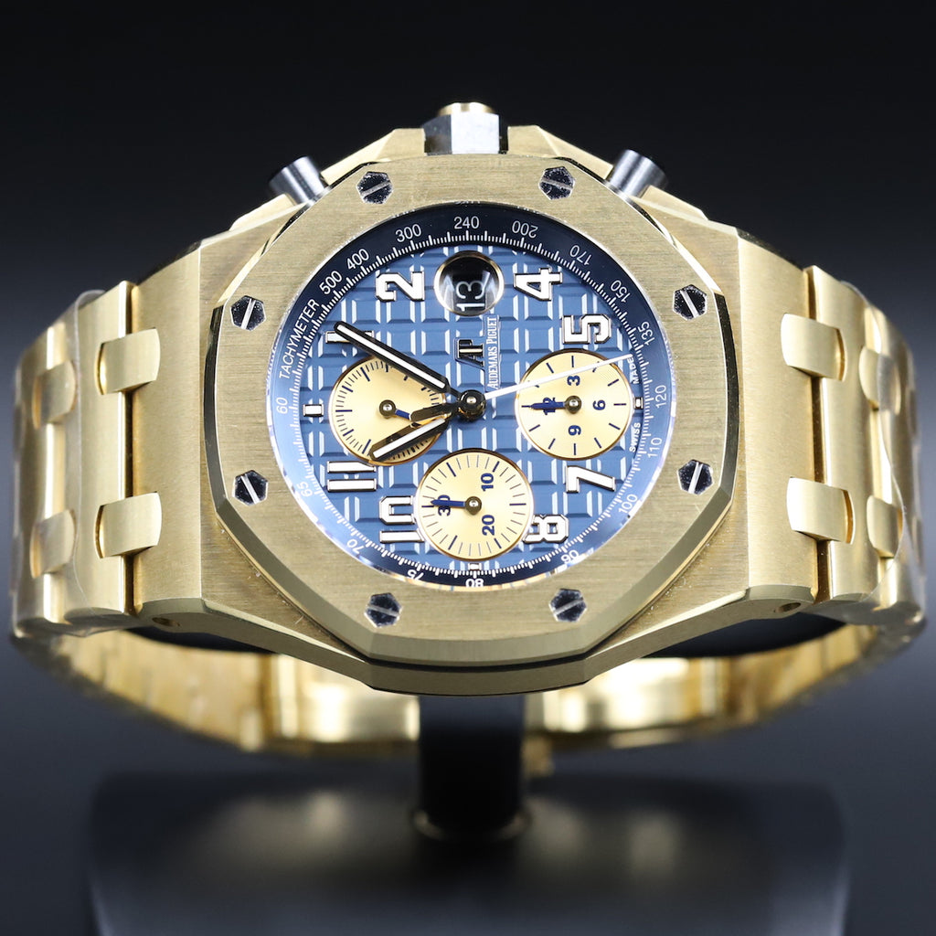 Audemars Piguet 26470BA Royal Oak Offshore 'Brick' Blue Dial