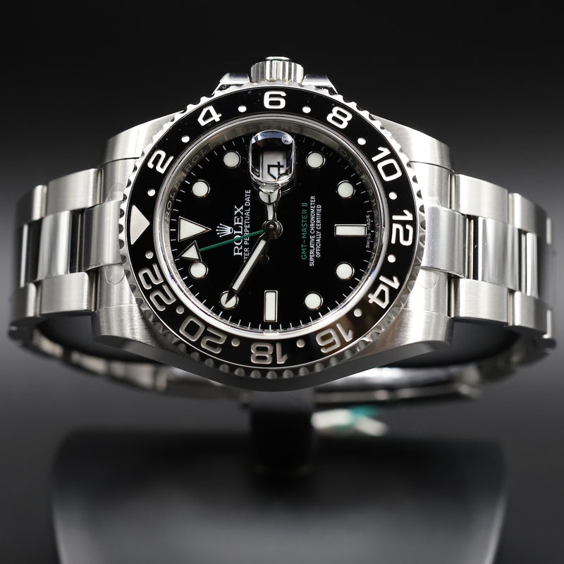 Rolex 77080 Oyster Perpetual 31 Black Dial