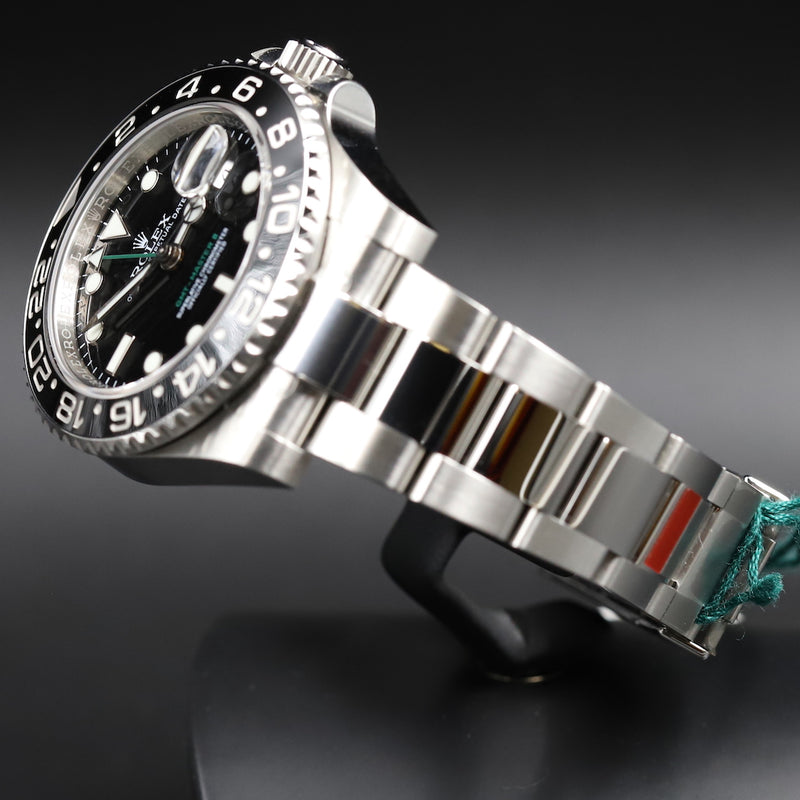 Rolex 116710LN GMT Master II Black Dial
