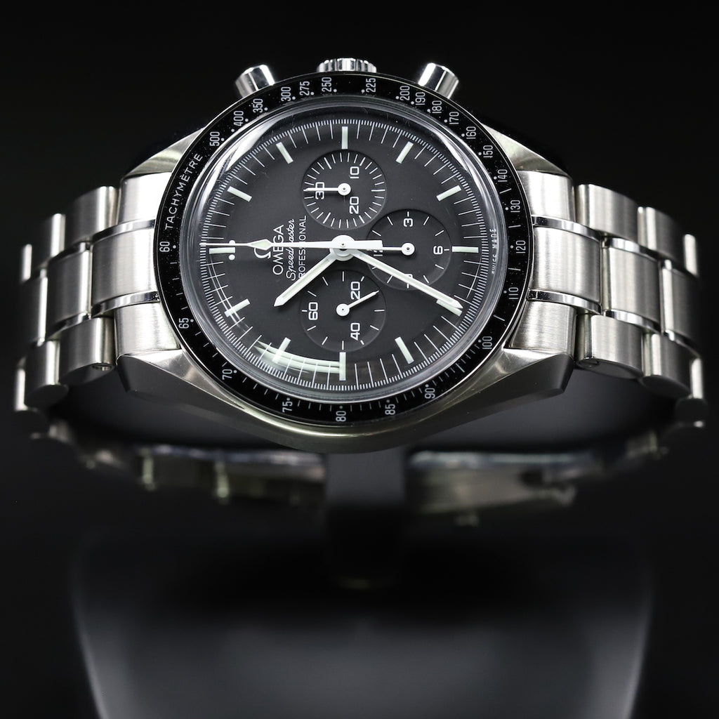 Omega 311.30.42.30.01.005 Speedmaster Moonwatch Professional Chronograph Black Dial