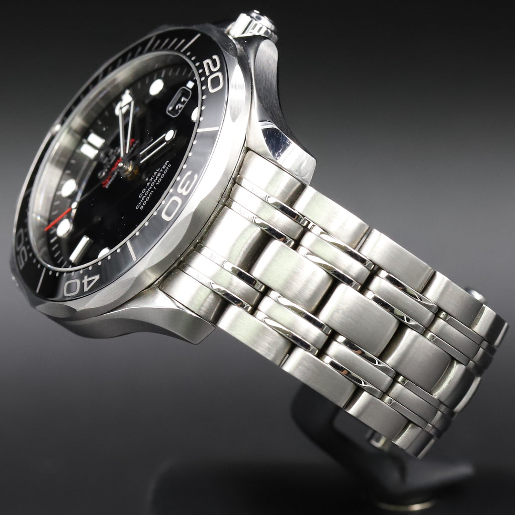 Omega 212.30.41.20.01.003 Seamaster Diver 300M Co-Axial Black Dial