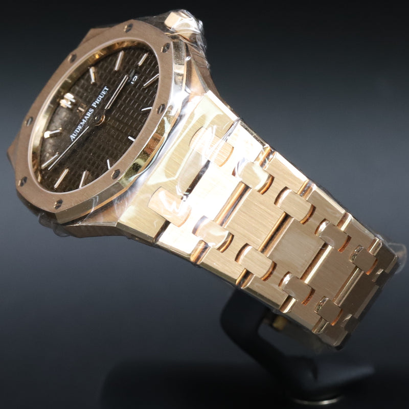 Audemars Piguet 67650OR Lady Royal Oak Chocolate Dial