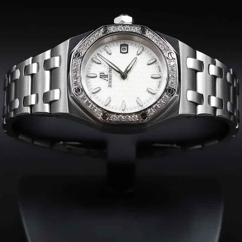 Audemars Piguet 67601ST Lady Royal Oak White Dial