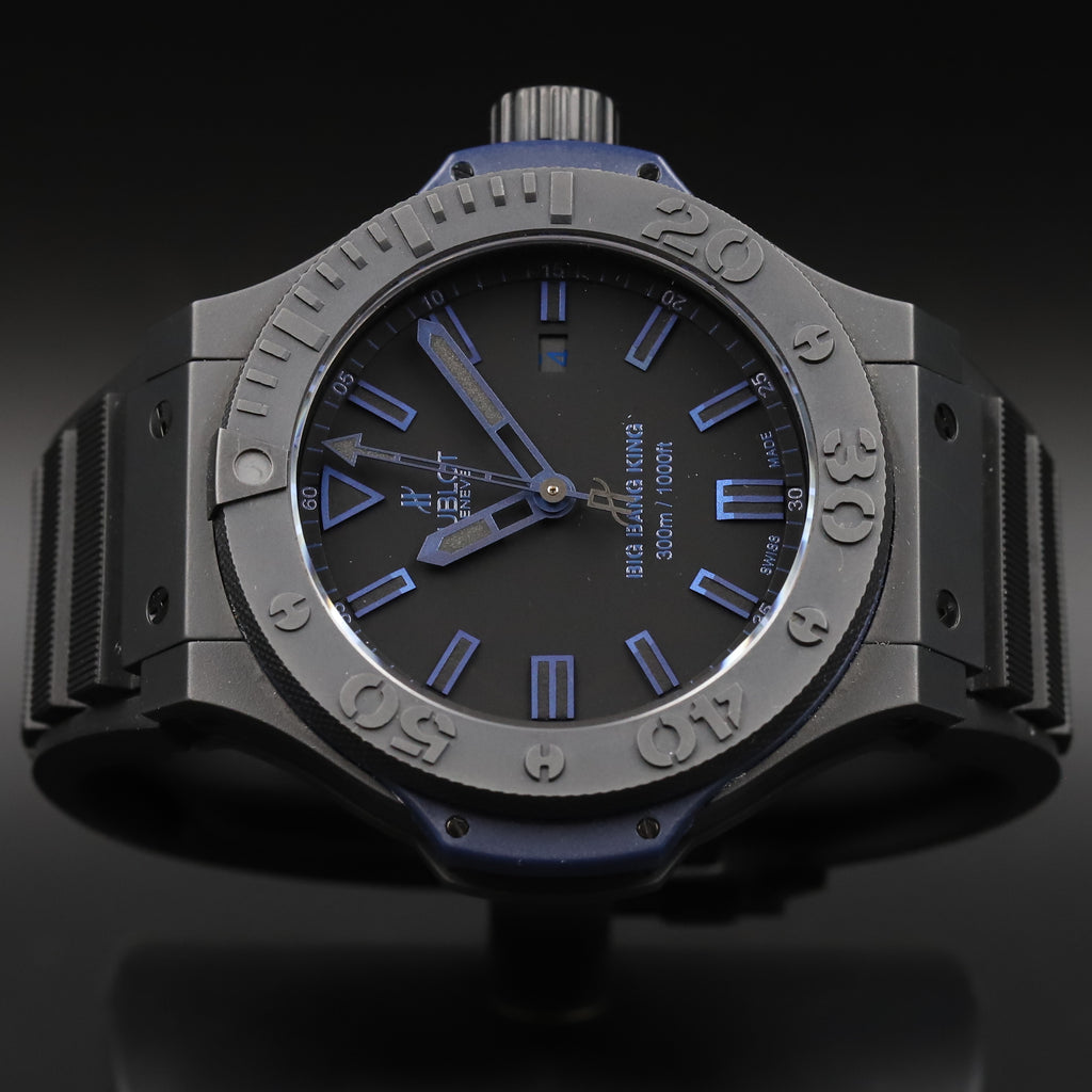 Hublot 322.CI.1190.GR.ABB09 Big Bang King All Black Blue