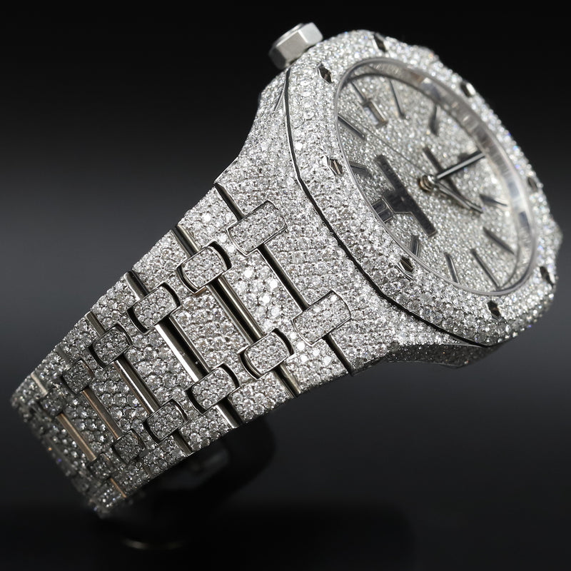 Audemars Piguet 15400ST Royal Oak Custom Diamond