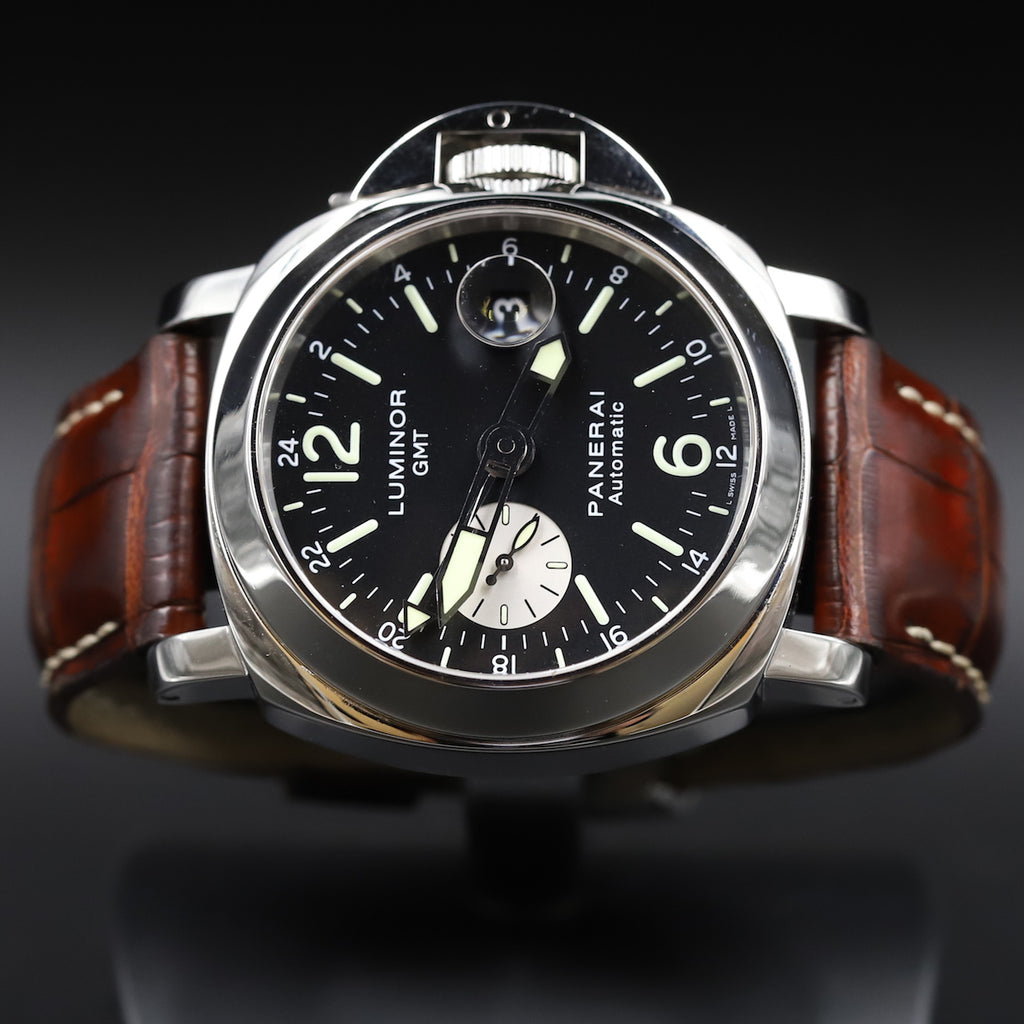 Panerai PAM 00088 Luminor GMT Automatic Acciaio