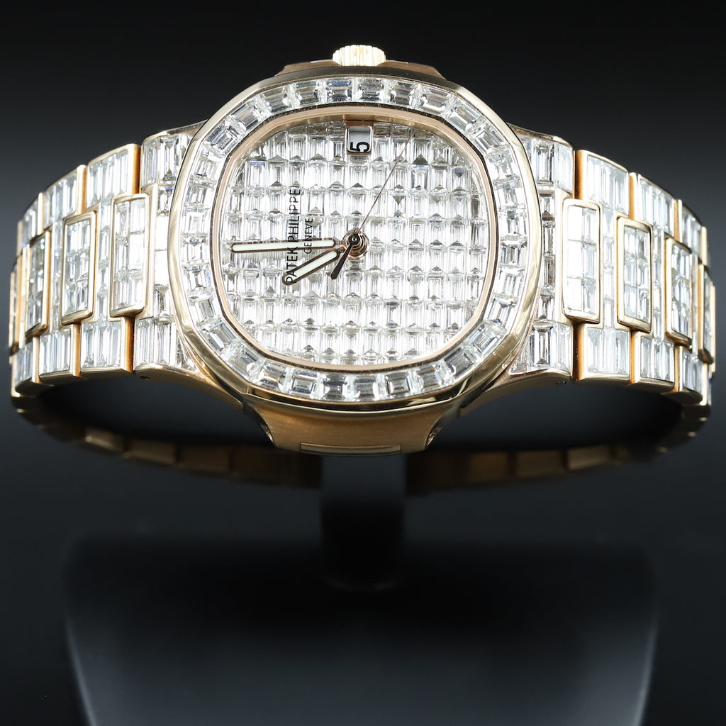 Patek Philippe 5711/1R Nautilus Custom Diamond