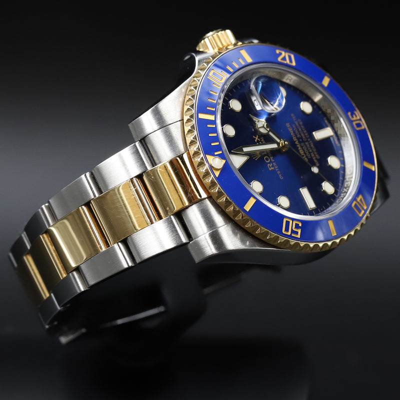 Rolex 116613LB Submariner SS/18k Blue Dial