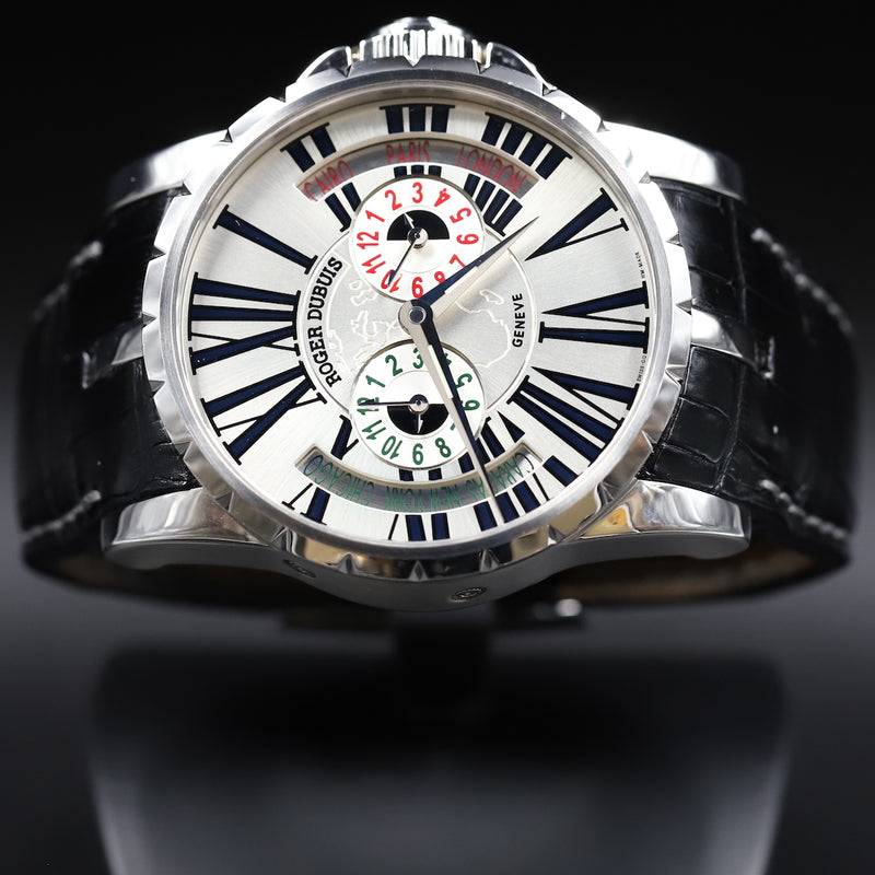 Roger Dubuis EX45 1448 0 3.7ATT/28 Excalibur World Time Zone
