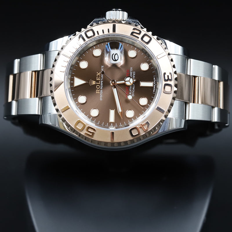 Rolex 116621 Yacht-Master 40 SS/RG Chocolate Dial