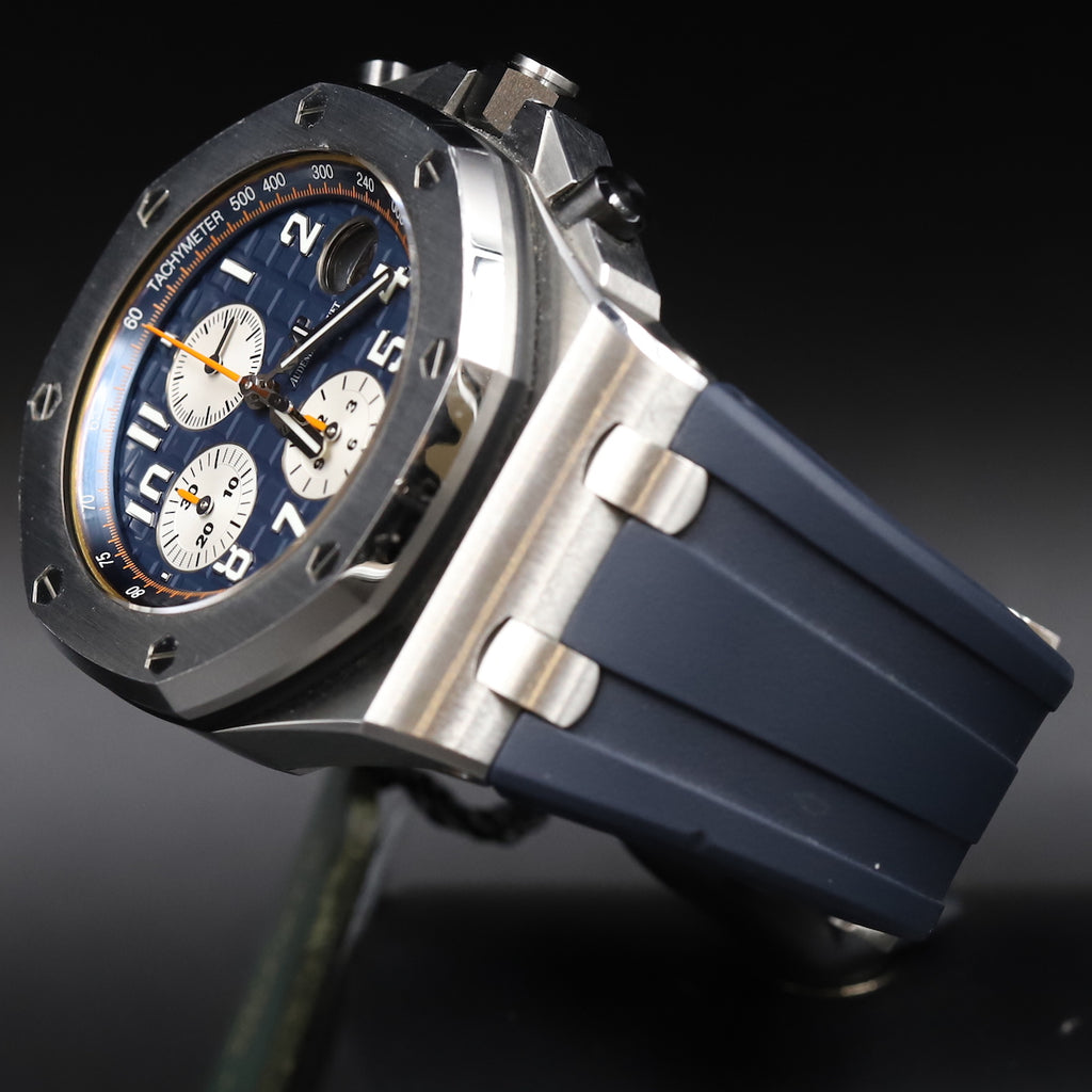 Audemars Piguet 26470ST Royal Oak Offshore 'Brick' Blue Dial