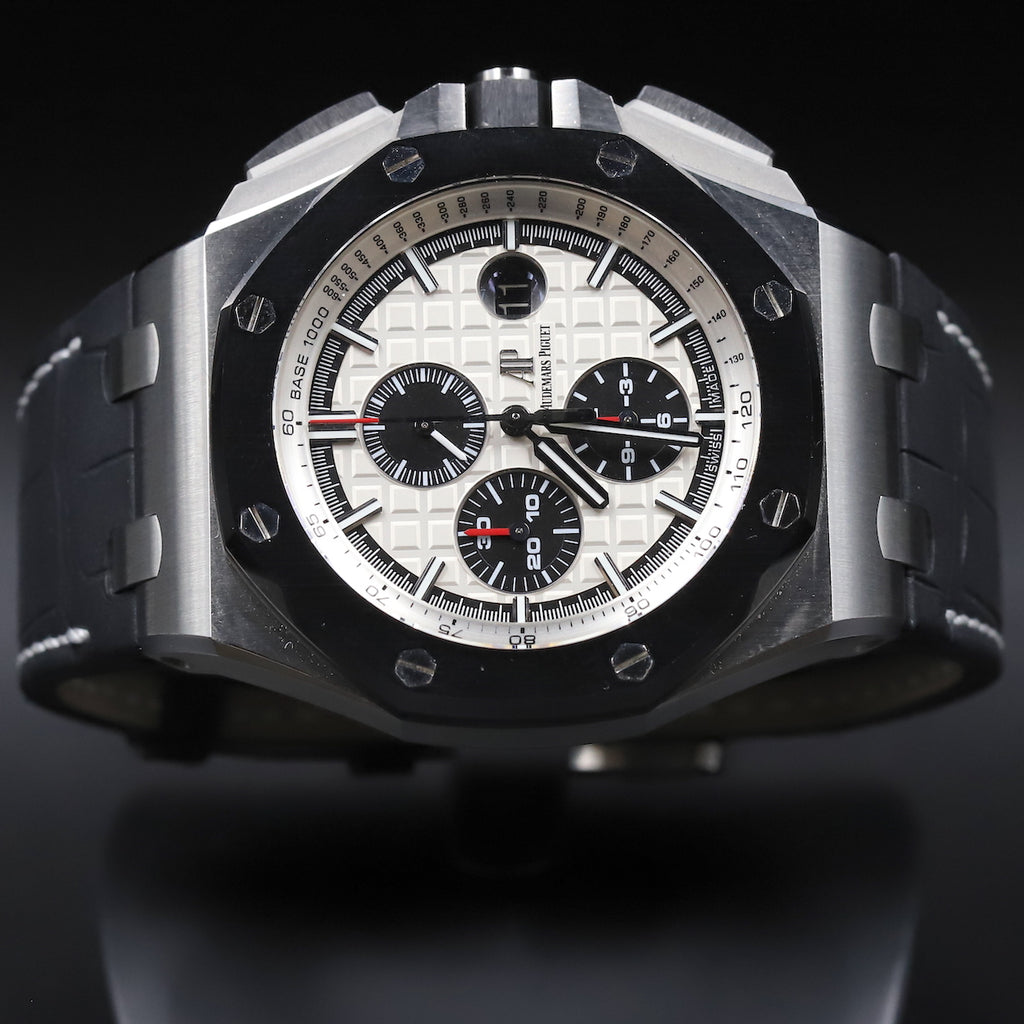Audemars Piguet 26400SO Royal Oak Offshore White Dial