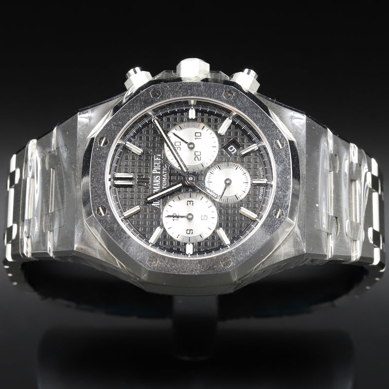 Audemars Piguet 15400ST Royal Oak Custom Diamond Black Dial