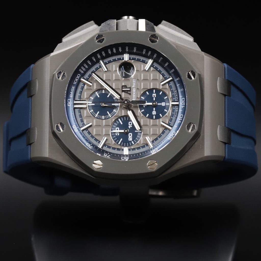 Audemars Piguet 26405CG Royal Oak Offshore Grey Dial