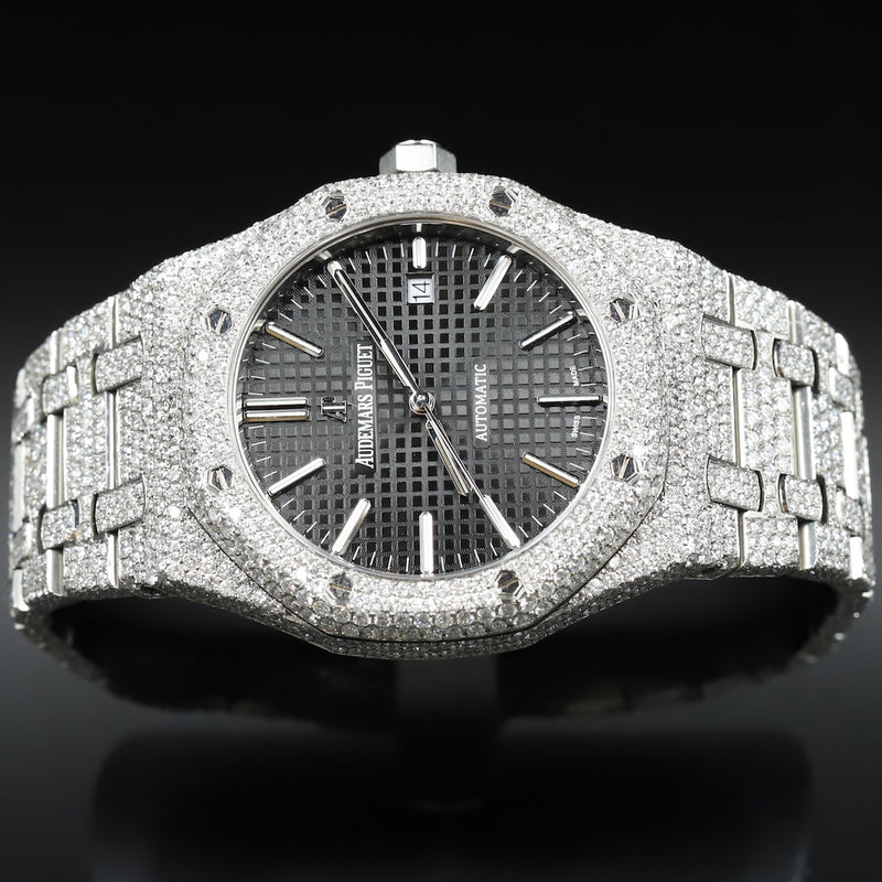Audemars Piguet 15451ST Royal Oak Ruthenium Dial