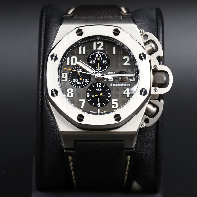 Audemars Piguet 26320OR Royal Oak Chronograph White Dial