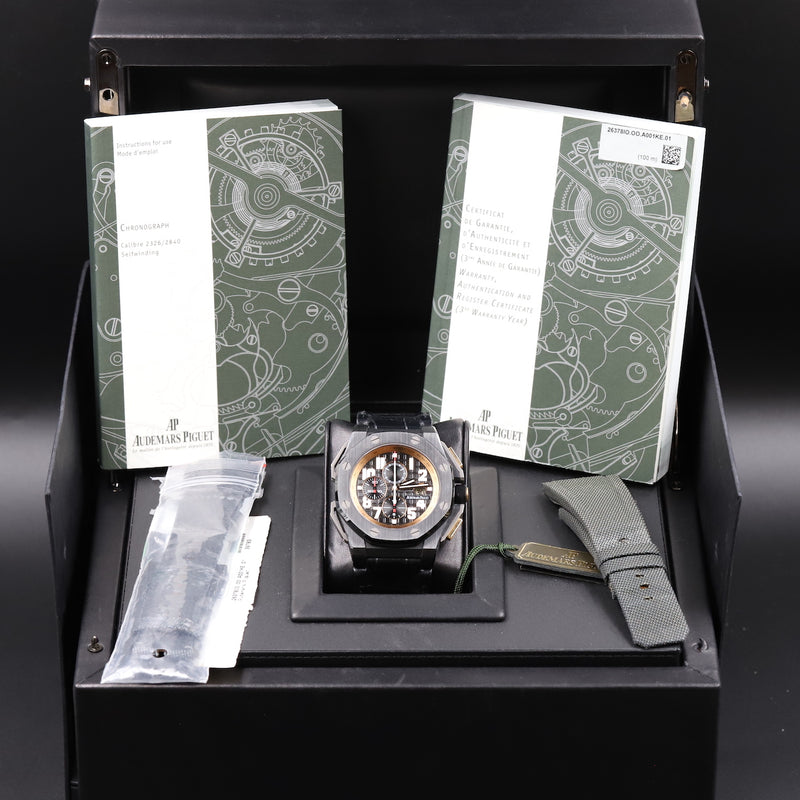 Audemars Piguet 26378IO Royal Oak Offshore Arnold Schwarzenegger 'The Legacy' Chronograph
