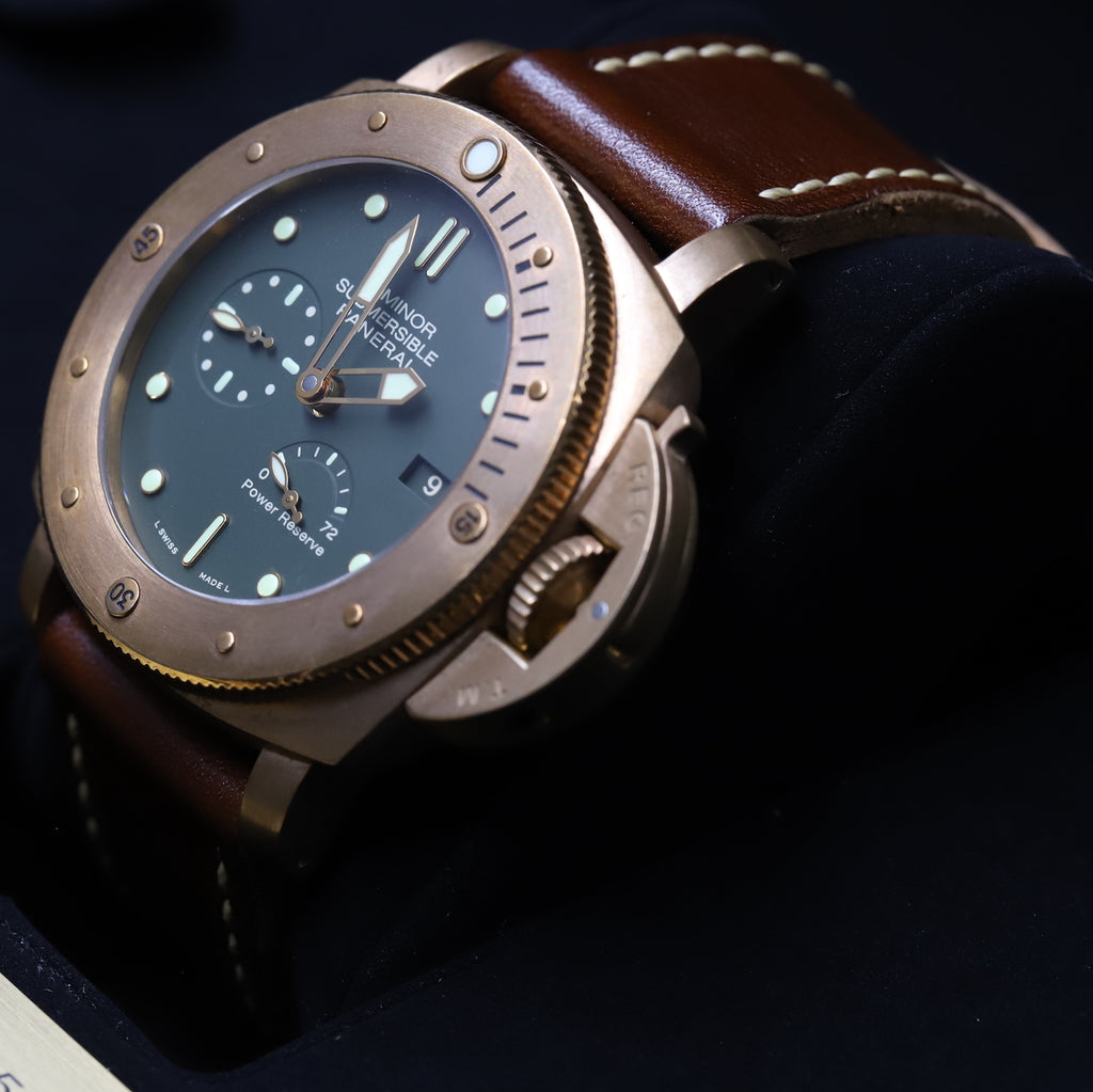 Panerai PAM 00507 Luminor Submersible 1950 3 Days Power Reserve Automatic Bronzo