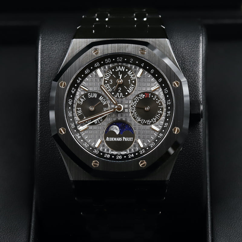 Audemars Piguet 26579CE Royal Oak Black Ceramic Perpetual Calendar