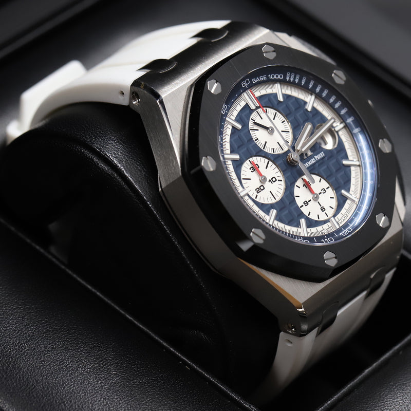 Audemars Piguet 26401PO Royal Oak Offshore Platinum + Carbon/Ceramic