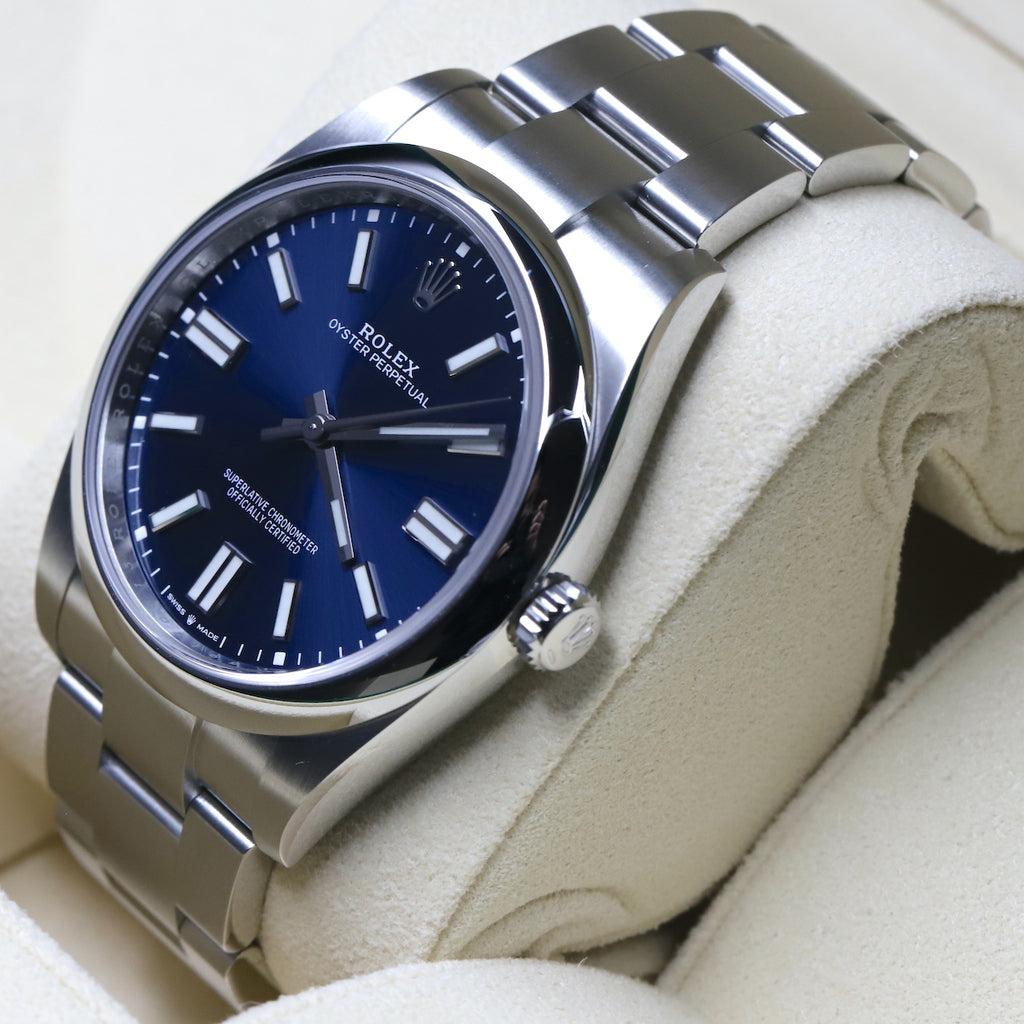 Rolex 124300 Oyster Perpetual 41mm Blue Dial