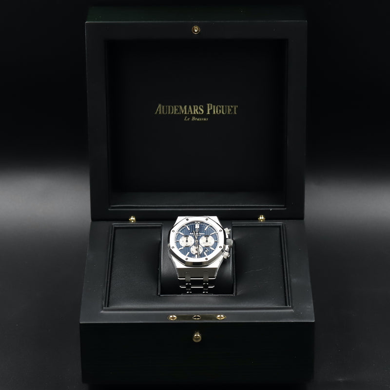 Audemars Piguet 26331ST Royal Oak Chronograph Blue Dial
