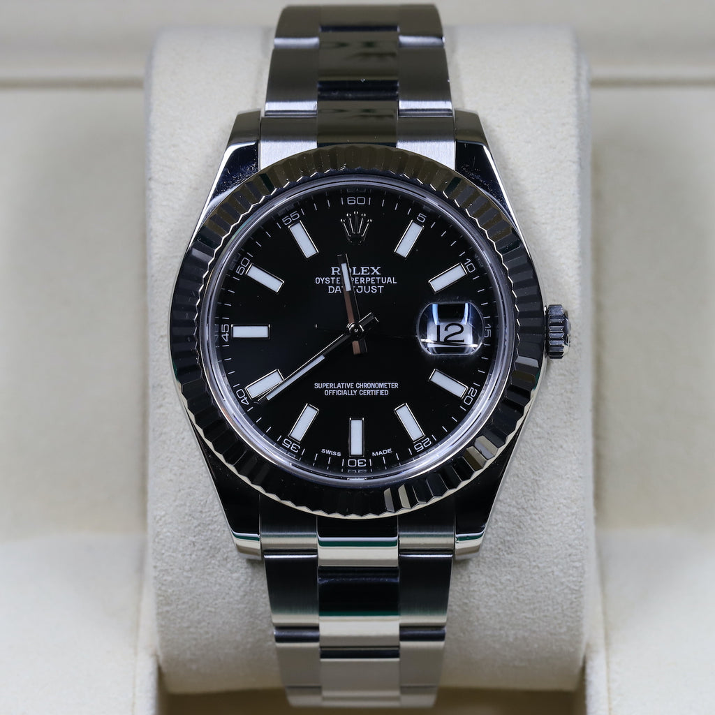 Rolex 126334 Datejust 41 Black Dial