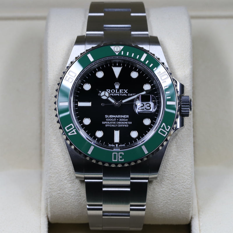 Rolex 126610LV Submariner 'Starbucks'