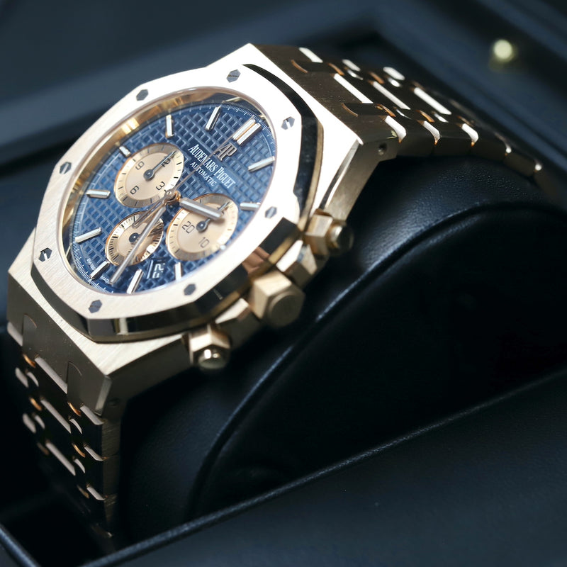Audemars Piguet 26331OR Royal Oak Chronograph Blue Dial