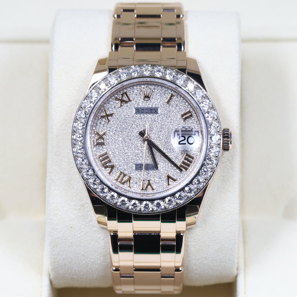 Rolex 86285 Datejust Pearlmaster 39