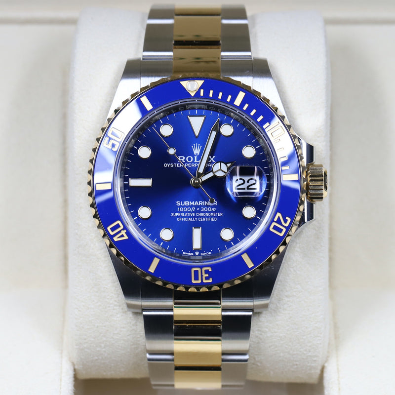 Rolex 126613LB Submariner SS/18k Blue Dial