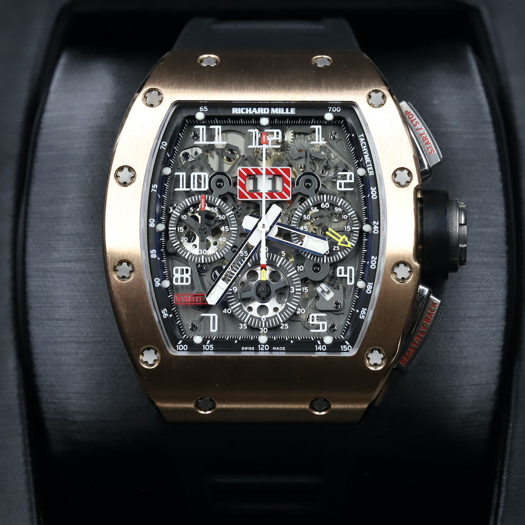 Richard Mille RM011-FM Felipe Massa Rose Gold Titanium