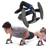 3-in-1 Push Up Bar AB Wheel Roller Kit With Adjustable Jump Rope Exercise Body Building Equipment For Home Gym Fitness Workout