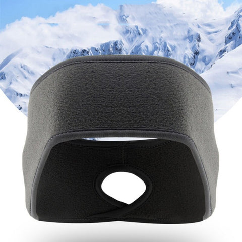 Winter Polar Fleece Sport Headband Pampas Fox Fitness
