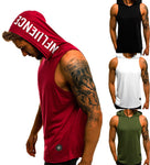 Summer Hooded Workout Tank Top