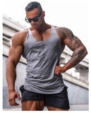 Muscle Strong Training Tank Top Gray
