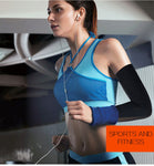 Ice Fabric Sports UV Reflective Arm Sleeves.