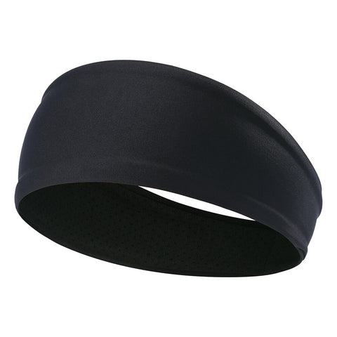 Lightweight Sports Anti-Slip Fitness Headband Black
