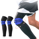 Elastic Silicone Padded Basketball Knee Support (Pairs or singles)