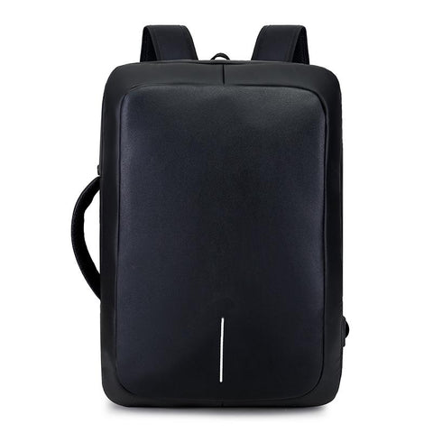 Backpack - Business Backpack USB Port 17 Inch Laptop Anti-theft Bag