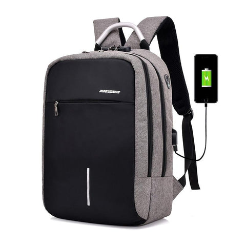Backpack - USB Port Anti-Theft Backpack