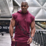 Bodybuilding Hooded Tank Top