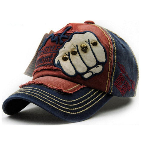 Caps - Baseball Snapback Cotton Cap