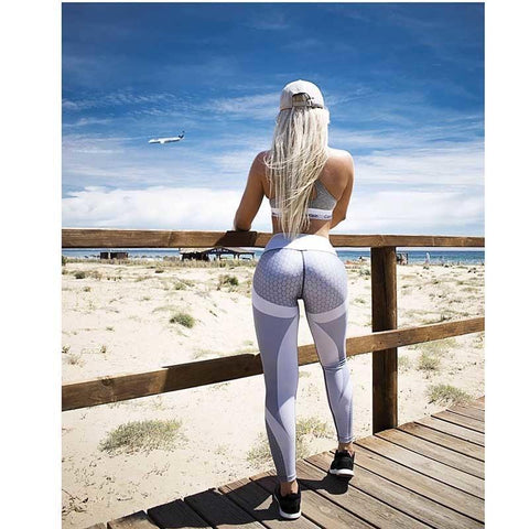 Leggings - 3D Design Workout Leggings